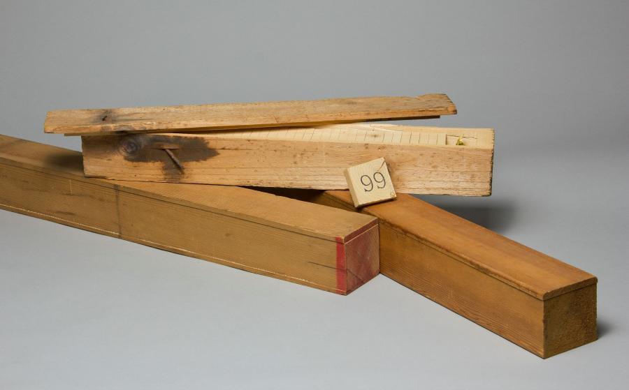 Teaching Boxes, 1983, pine