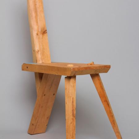 Student Chair Challenge, 1994, pine