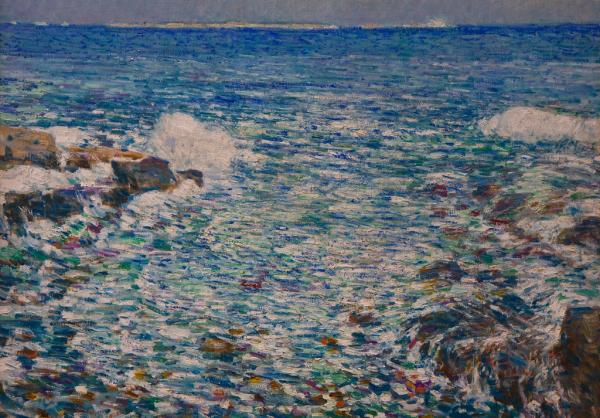 """Childe Hassam, Surf, Isles of Shoals"" by gsz is licensed under CC BY-NC-ND 2.0"
