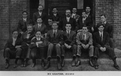 Mu Chapter in 1912