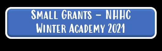 Small grants 2021 Winter Academy