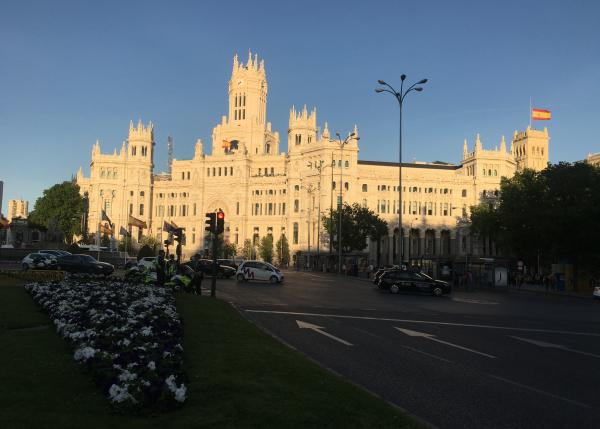 Plaza de Cibeles- Madrid, Spain