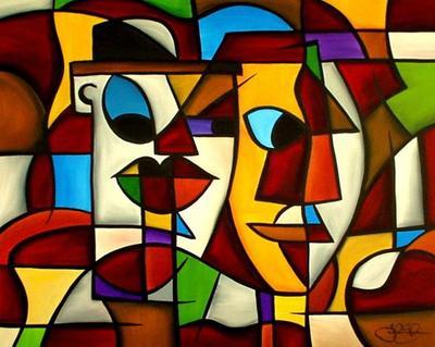 cubist 9 by Kandinsky