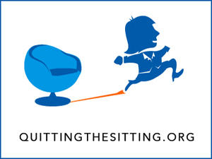 Quitting the Sitting logo