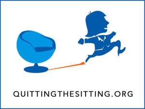 Quitting the Sitting logo