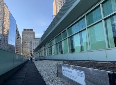 Urban farming atop LEED certified building in Boston, MA