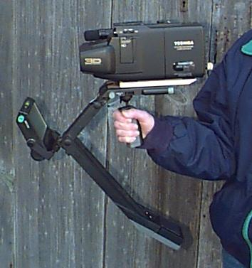 Camera mounted on a SteadiCam