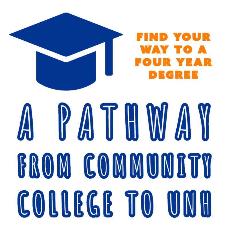 Pathway from Community College to UNH