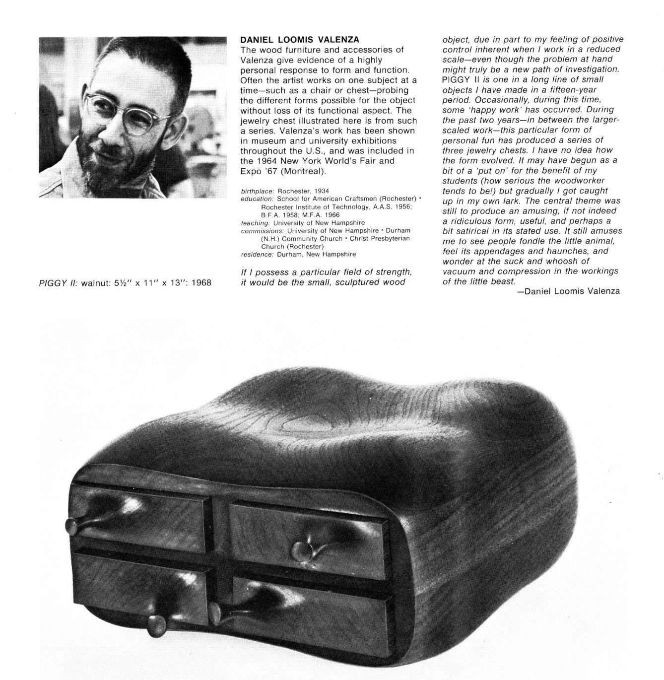 Objects: USA catalogue inset