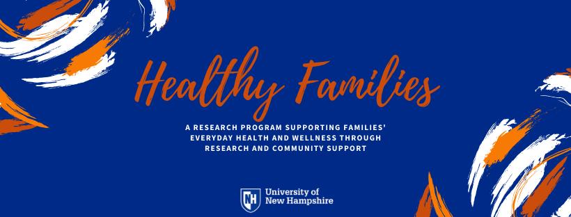 Healthy Families Header summer 2020