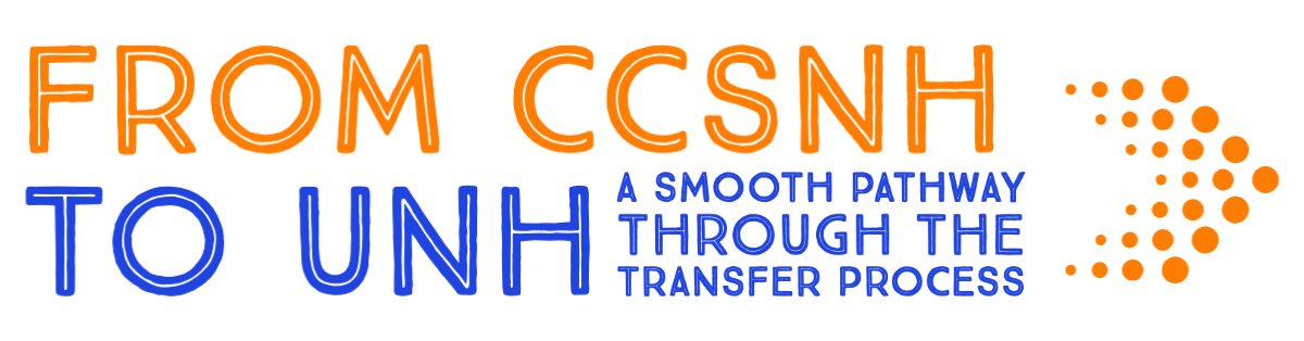 From CCSNH to UNH a smooth pathway through the transfer process