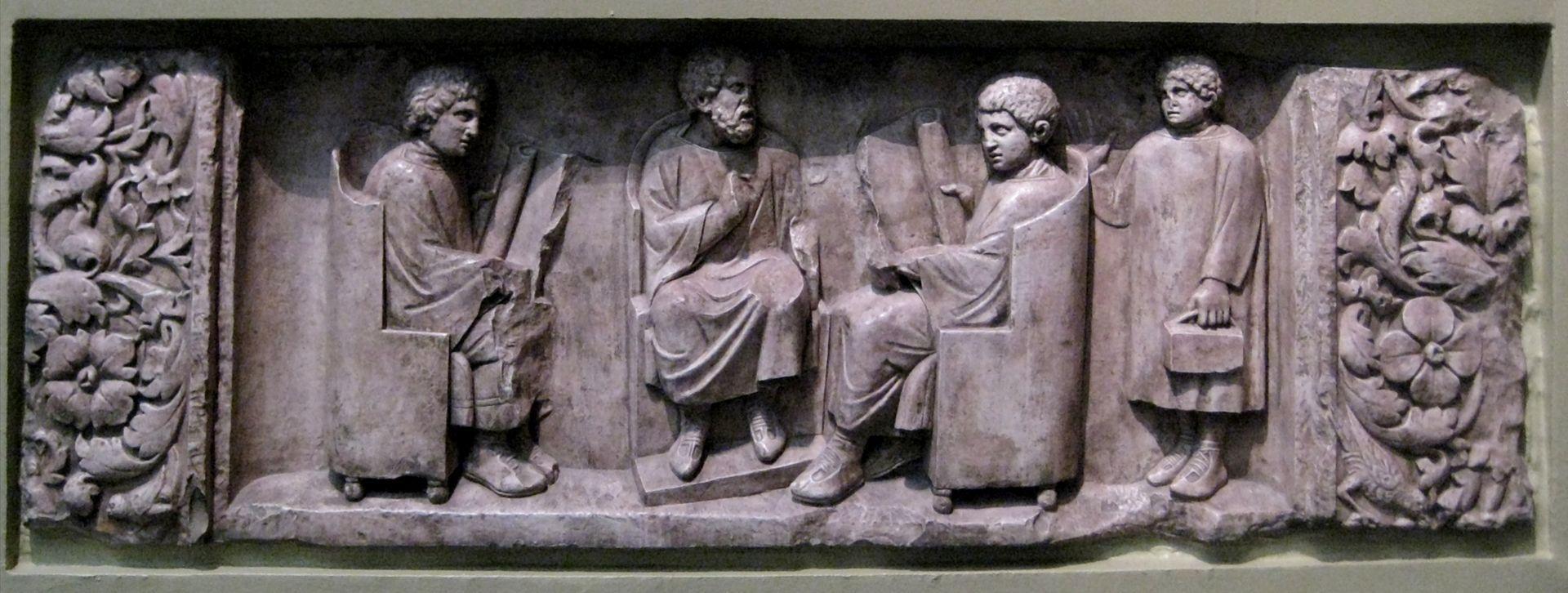 Relief of Roman School