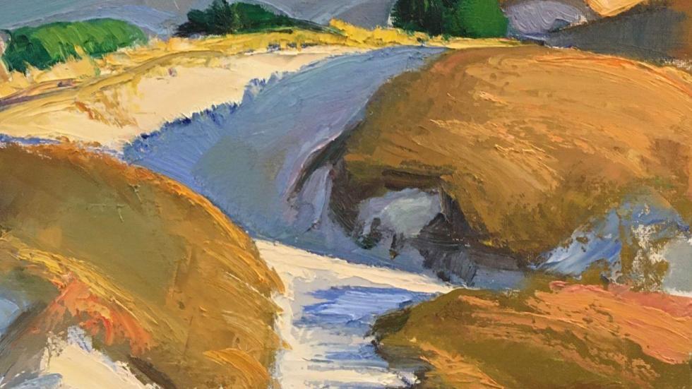 Brett Gamache, Pathway through the Dunes, 2020