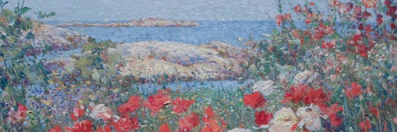 """Childe Hassam, Celia Thaxter's Garden, Isles of Shoals, Maine, 1890, Met"" by Sharon Mollerus is licensed under CC BY 2.0"