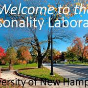 Welcome to the UNH Personality Laboratory