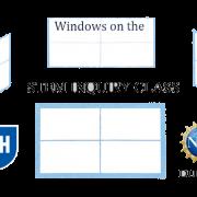 Windows on the STEM inquiry class logo